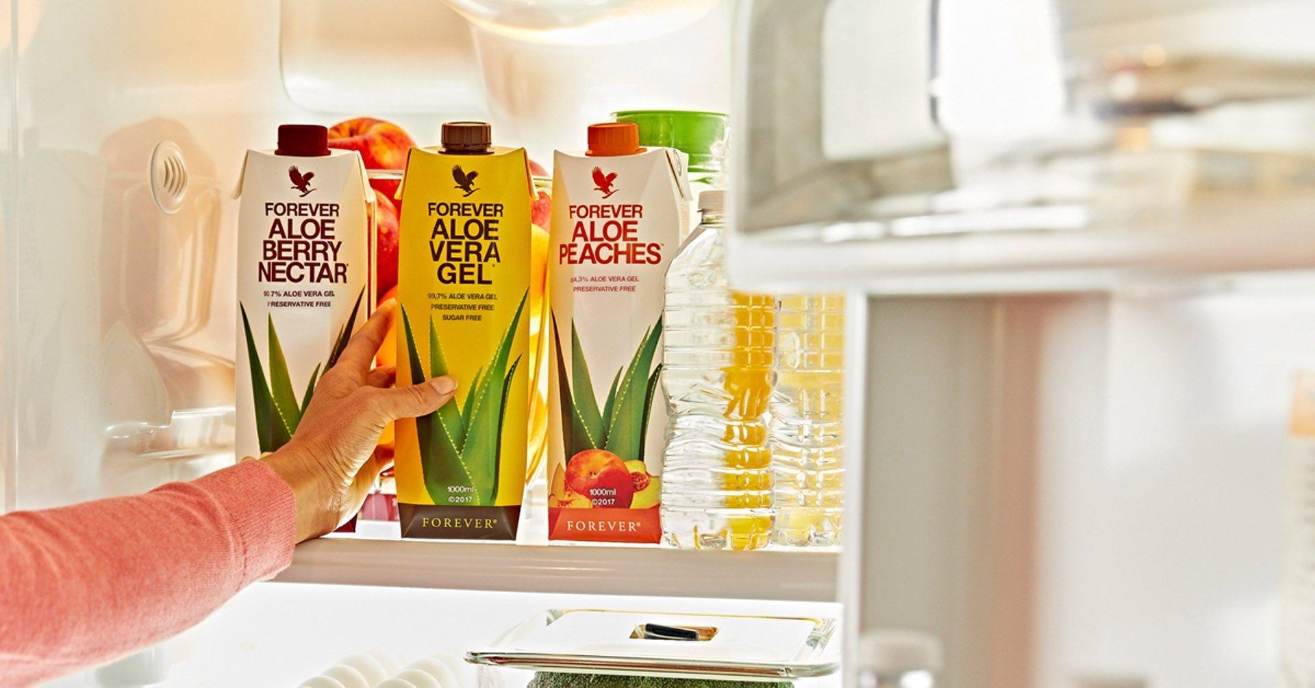 Aloe Gels In Fridge